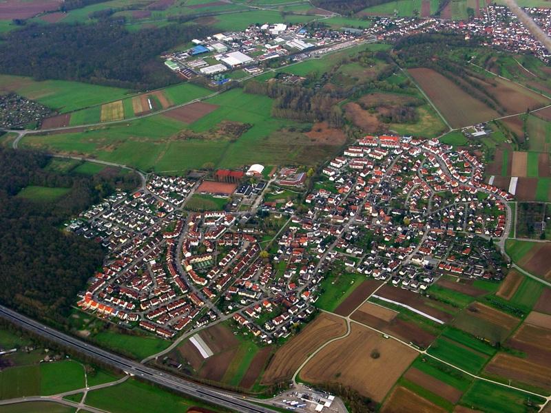 Freiburg Hochdorf Aus Der Luft