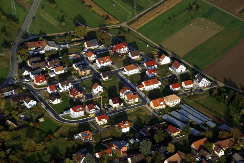 Neubaugebiet Reutacker in Vörstetten
